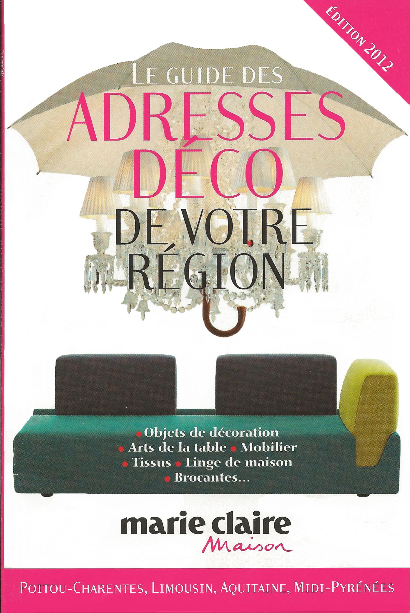 revue de presse 2012 le blog d co de pure d co. Black Bedroom Furniture Sets. Home Design Ideas