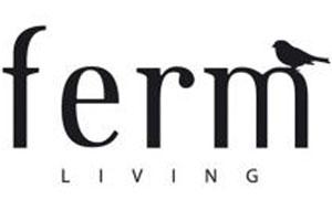 Boutique Ferm Living coussin, tapis, panier, papier peint